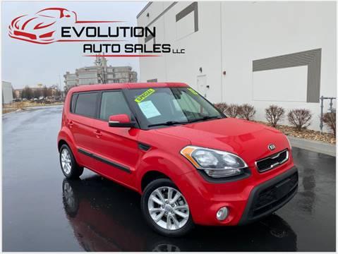 2013 Kia Soul for sale at Evolution Auto Sales LLC in Springville UT