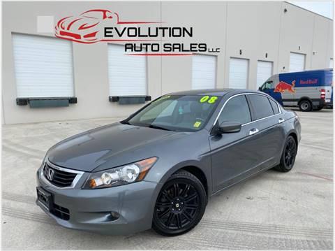 2008 Honda Accord for sale at Evolution Auto Sales LLC in Springville UT