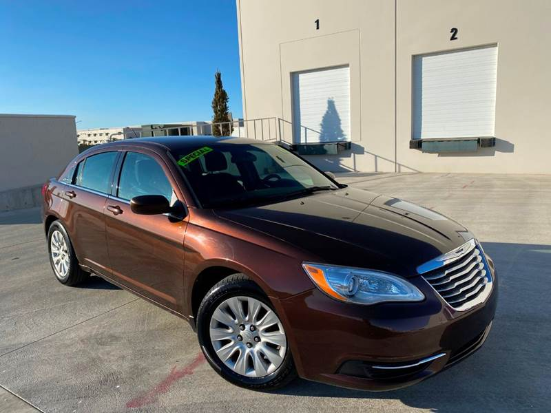 2013 Chrysler 200 for sale at Evolution Auto Sales LLC in Springville UT