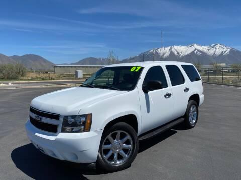 2007 Chevrolet Tahoe for sale at Evolution Auto Sales LLC in Springville UT