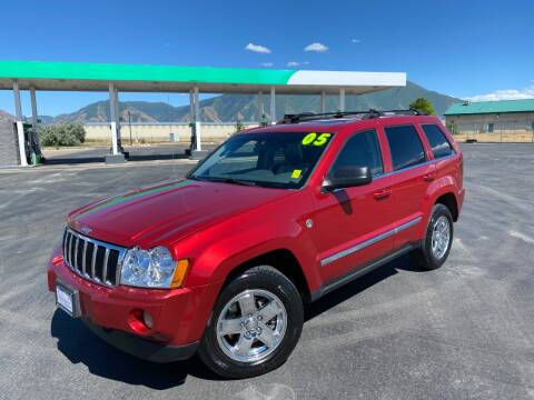 2005 Jeep Grand Cherokee for sale at Evolution Auto Sales LLC in Springville UT