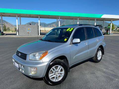 2002 Toyota RAV4 for sale at Evolution Auto Sales LLC in Springville UT