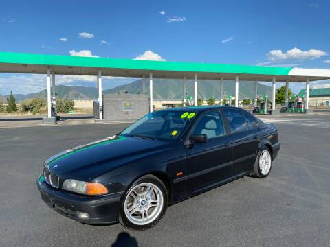 2000 BMW 5 Series for sale at Evolution Auto Sales LLC in Springville UT