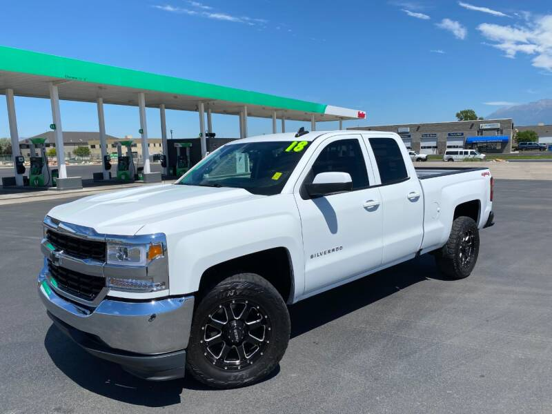 2018 Chevrolet Silverado 1500 for sale at Evolution Auto Sales LLC in Springville UT