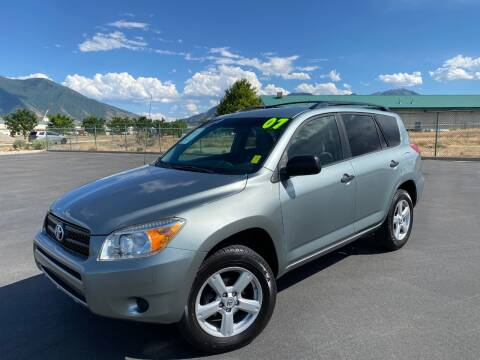 2007 Toyota RAV4 for sale at Evolution Auto Sales LLC in Springville UT