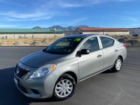 2014 Nissan Versa for sale at Evolution Auto Sales LLC in Springville UT