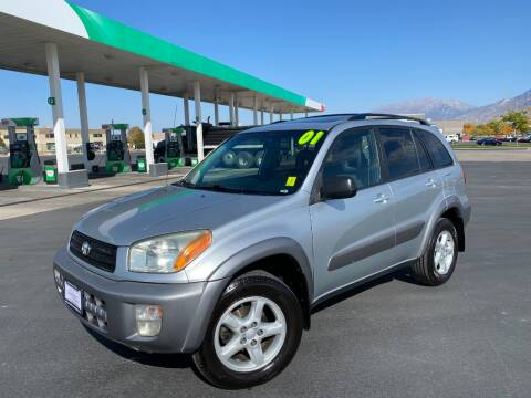 2001 Toyota RAV4 for sale at Evolution Auto Sales LLC in Springville UT