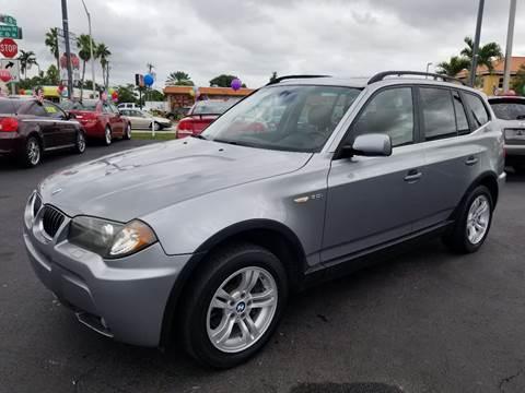 2006 BMW X3 for sale in Hialeah, FL