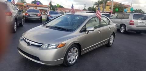 2006 Honda Civic for sale in Hialeah, FL