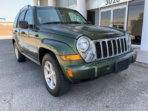 2007 Jeep Liberty Limited for sale at VEGAS STRONG AUTO SALES in Las Vegas NV