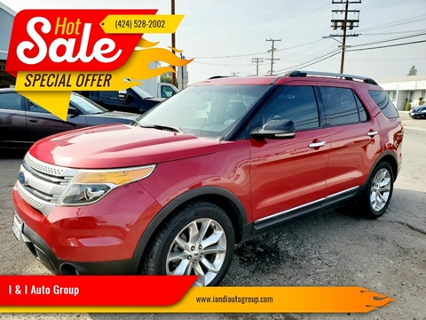 2012 Ford Explorer for sale in Carson, CA