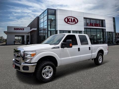 Trucks For Sale In Md >> 2016 Ford F 250 Super Duty For Sale In North Laurel Md