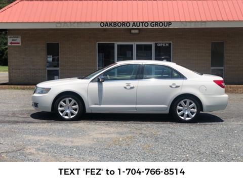 Oakboro Auto Group >> 2008 Lincoln Mkz For Sale In Oakboro Nc