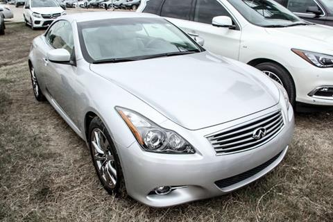 2012 Infiniti G37 Convertible for sale in Grapevine, TX