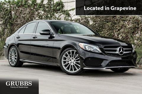 2015 Mercedes-Benz C-Class for sale in Grapevine, TX