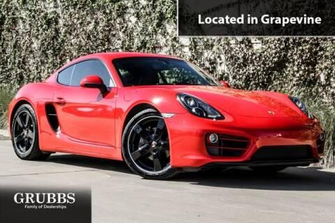 2014 Porsche Cayman for sale in Grapevine, TX