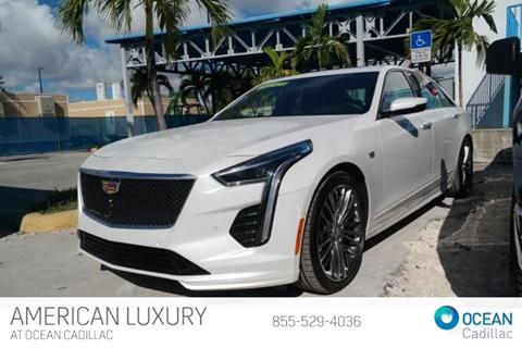 New Cadillac Ct6 >> 2019 Cadillac Ct6 For Sale In Miami Beach Fl