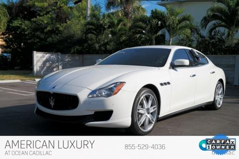 2016 Maserati Quattroporte for sale in Miami Beach, FL