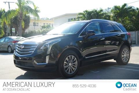 2017 Cadillac XT5 for sale in Miami Beach, FL