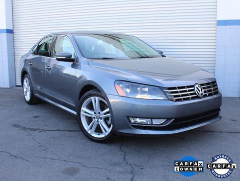 2013 Volkswagen Passat for sale in Van Nuys, CA