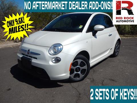 2016 FIAT 500e for sale in Scottsdale, AZ