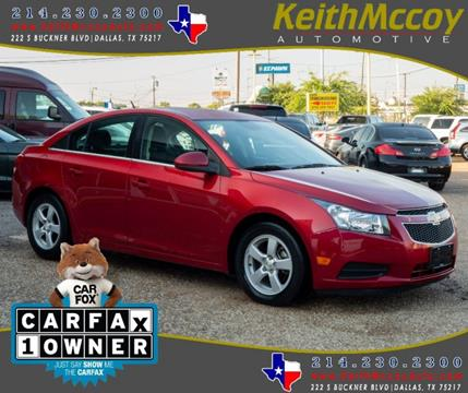 2014 Chevrolet Cruze for sale in Dallas, TX