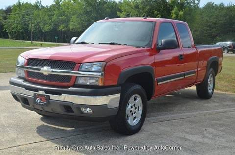 2005 Chevrolet Silverado 1500 for sale at Priority One Auto Sales in Stokesdale NC