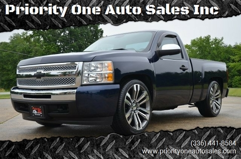 2011 Chevrolet Silverado 1500 for sale at Priority One Auto Sales in Stokesdale NC