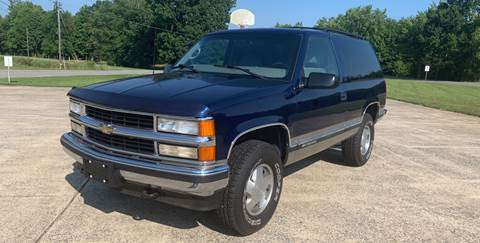 1998 Chevrolet Tahoe for sale at Priority One Auto Sales in Stokesdale NC