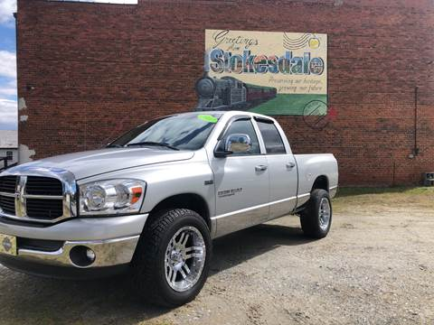 2007 Dodge Ram Pickup 1500 for sale at Priority One Auto Sales in Stokesdale NC