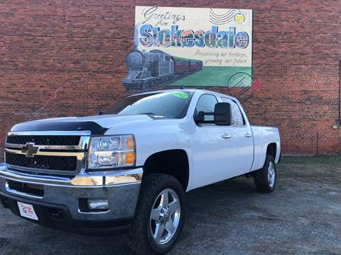2012 Chevrolet Silverado 2500HD for sale at Priority One Auto Sales in Stokesdale NC