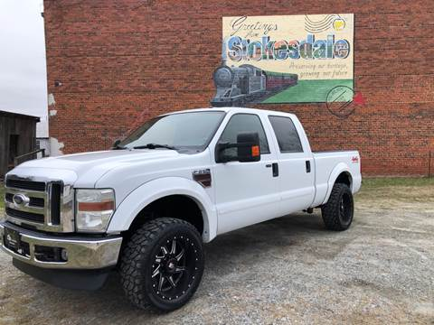 2008 Ford F-250 Super Duty for sale at Priority One Auto Sales in Stokesdale NC
