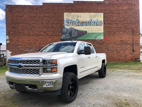 2015 Chevrolet Silverado 1500 for sale at Priority One Auto Sales in Stokesdale NC