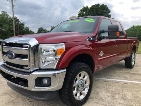 2016 Ford F-250 Super Duty for sale at Priority One Auto Sales in Stokesdale NC
