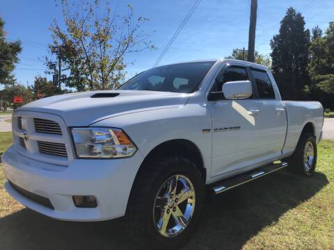 2012 RAM Ram Pickup 1500 for sale at Priority One Auto Sales in Stokesdale NC