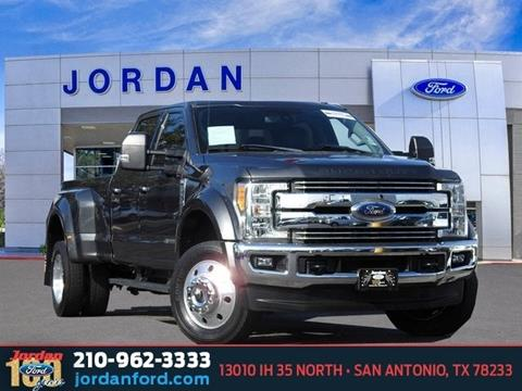 2017 Ford F-450 Super Duty for sale in San Antonio, TX