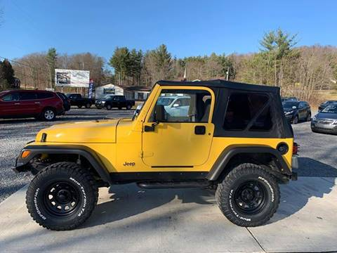 2000 Jeep Wrangler for sale in Brookville, PA