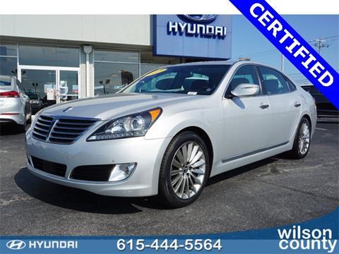 Wilson County Hyundai >> Used 2015 Hyundai Equus For Sale - Carsforsale.com®