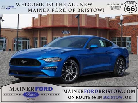 2019 Ford Mustang for sale in Bristow, OK