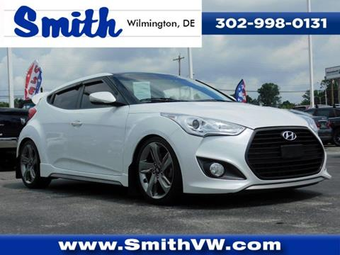 2015 Hyundai Veloster Turbo for sale in Wilmington, DE