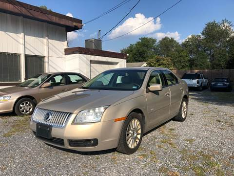 2007 Mercury Milan for sale in Mount Crawford, VA