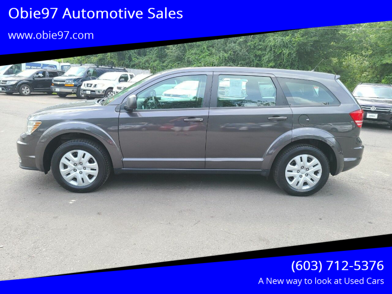 2014 Dodge Journey for sale at Obie97 Automotive Sales in Londonderry NH