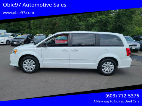 2014 Dodge Grand Caravan for sale at Obie97 Automotive Sales in Londonderry NH
