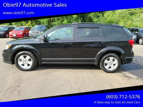 2012 Dodge Journey for sale at Obie97 Automotive Sales in Londonderry NH