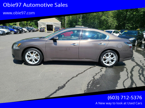 2013 Nissan Maxima for sale at Obie97 Automotive Sales in Londonderry NH