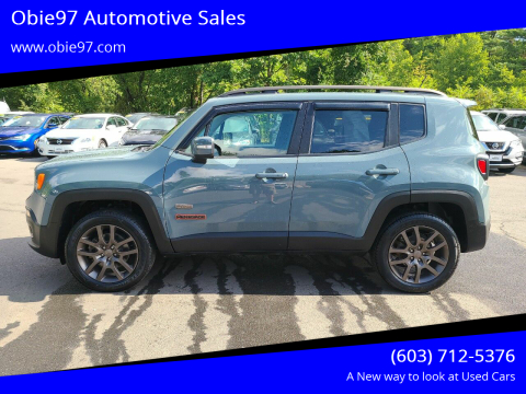 2016 Jeep Renegade for sale at Obie97 Automotive Sales in Londonderry NH