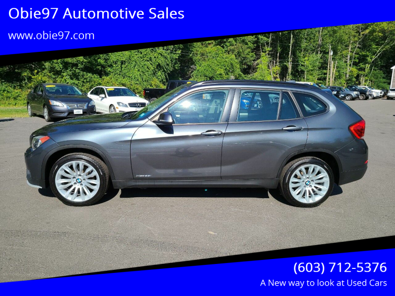 2015 BMW X1 for sale at Obie97 Automotive Sales in Londonderry NH