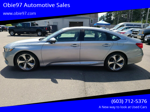 2018 Honda Accord for sale at Obie97 Automotive Sales in Londonderry NH
