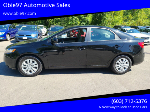 2013 Kia Forte for sale at Obie97 Automotive Sales in Londonderry NH