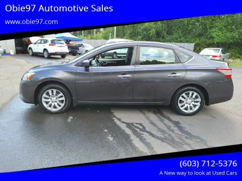 2014 Nissan Sentra for sale at Obie97 Automotive Sales in Londonderry NH